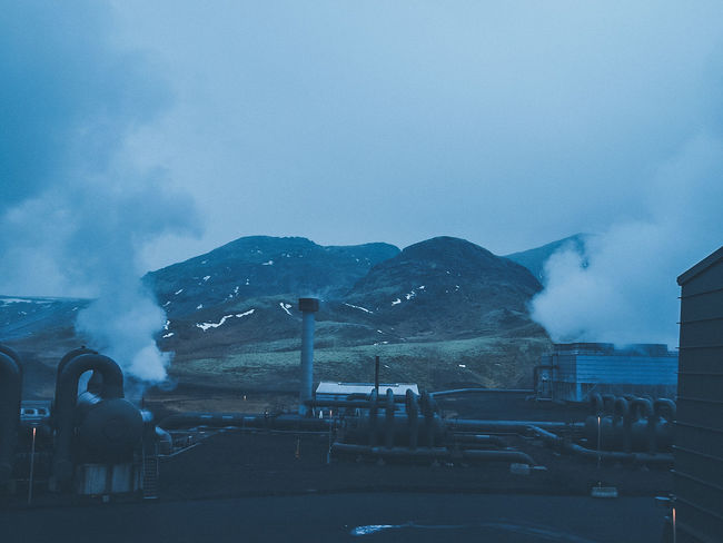 Geothermal Power Plant Siteseeing Nature Icelandairwaves Olympus Travel Iceland Reykjavik Winter