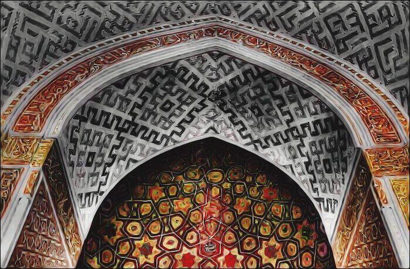 Iran Yazd Architecture Colorsplash Picsart Huechange