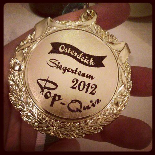 Da ist das Ding! #popquiz #sieger2012 Popquiz Sieger2012
