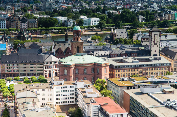 Paulskirche - with my Canon / check my Instagram 1848 Church Democracy Frankfurt Am Main Paulskirche Skyline Urban Geometry Architecture Building Exterior Built Structure City Cityscape Crowded Day Germany Hessen High Angle View History Main River Outdoors People Residential Building Roof Römerberg Town