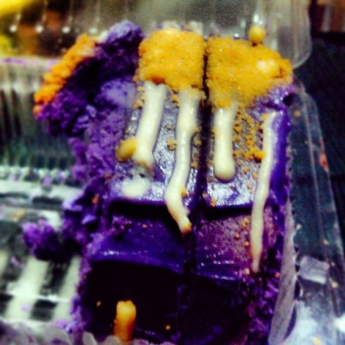 Foodtrip Ube  Icecreamcake  Kaon