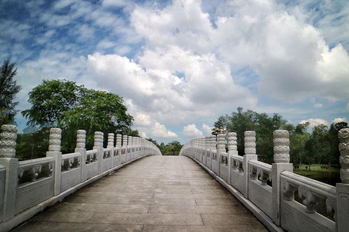 Bridge Cloud Diminishing Perspective Jurong Lake Gar Nature Nparks Nparksbuzz Sky