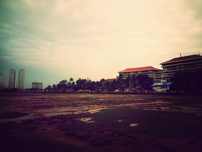 Morning Beach Colombo SriLanka