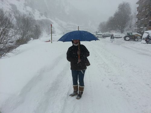 aquest mati baixant caminant de la Cortinada a Ordino #ganesdesolja