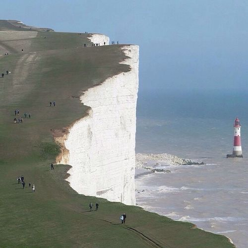 Beachy Head Cliffs, England ❤️❤️ Sky First Eyeem Photo Hello World ❤ Real Picture Nice Places  You Follow My Eye Em 💙 I Follow Back