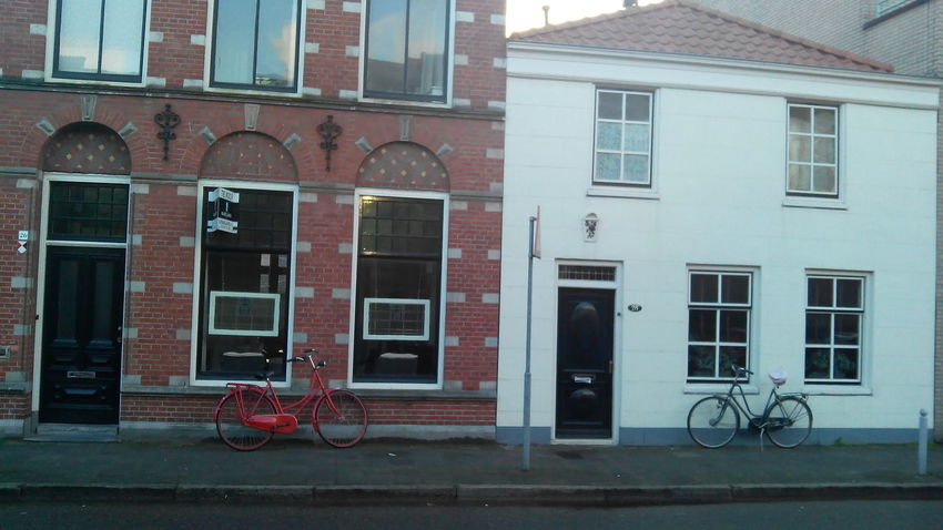 Architecture Beverwijk Bicycle Building Exterior Built Structure Church City View  Cityscapes Doors Dutch Historic Netherlands Red Street Window
