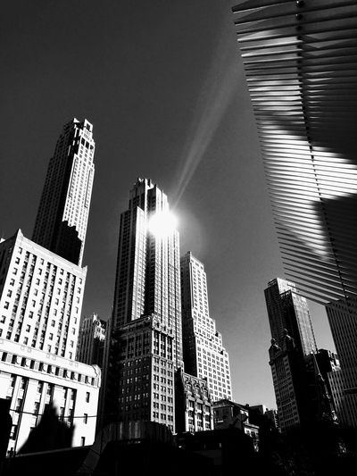 Architecture Building Exterior Skyscraper Low Angle View City Sky Urban Skyline No People Black & White Architecture Blackandwhite Photography World Trade Center Occulus EyeEm Best Shots EyeEm Gallery EyeEm Gallery EyeEm Masterclass