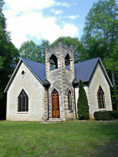 The Old Stone Church Glenn Springs Church Architecture