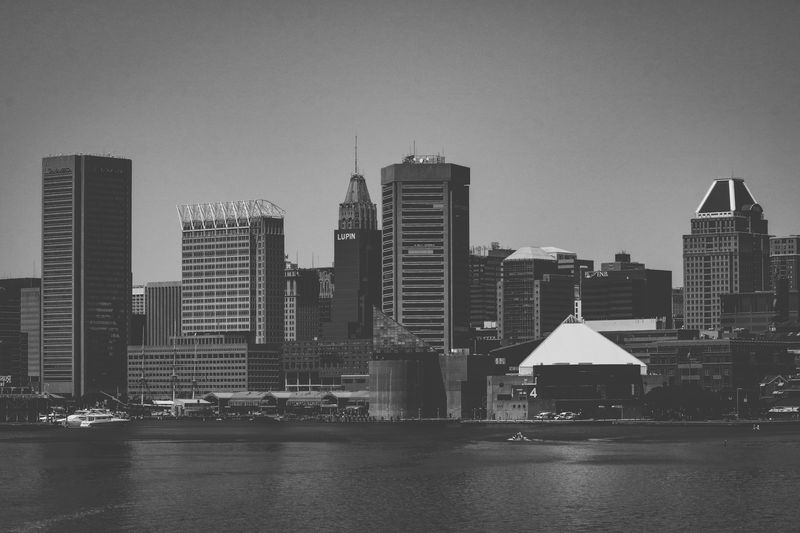 Blackandwhite Black And White Phase Blackandwhite Photography Black And White Collection  Built Structure Building Exterior Architecture Water City Building Skyscraper Office Building Exterior Cityscape Sky Waterfront Urban Skyline Tall - High Modern Landscape Nature River Residential District Outdoors The Street Photographer - 2018 EyeEm Awards