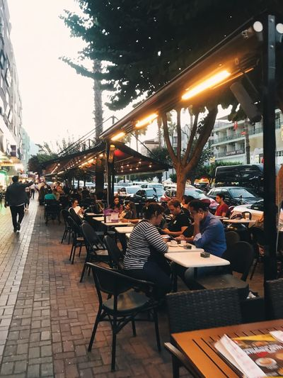 Street Architecture Table Business Incidental People City Restaurant EyeEmNewHere Cafe Street