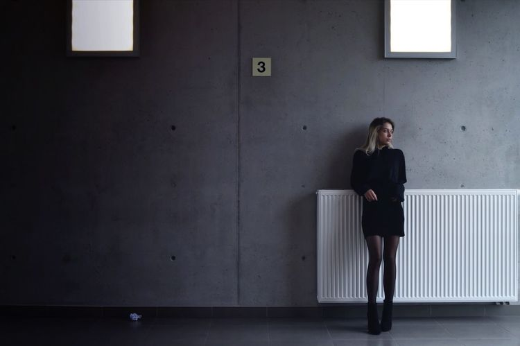 3 © Maaike Sanfrinnon - model: Ilke Van den Broeck Full Length One Person Young Women Standing Indoors  Well-dressed Architecture EyeEmNewHere WeekOnEyeEm Shotzdelight