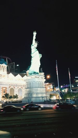 New York New York Our Lady Liberty Vegasbaby