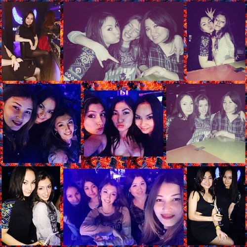 С сестренками и подружками в ANGAR COSMO_party Friday Party Fridayparty Cosmo Dancing Girls Sisters Dance космос  день_космонавтики 12апреля 12april 10042015 10042015friday АНГАР @angar_club Angar_club