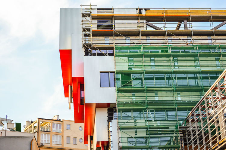 Under construction/Slovak National Gallery Building Exterior Building Story Built Structure Architectural Feature Under Reconstruction Reconstruction Urban Urban Perspectives Urbanphotography Urban Scene EyeEm Selects Multi Colored Architecture Sky Residential Structure Building Architectural Design Architectural Detail Tall - High High Rise The Photojournalist - 2018 EyeEm Awards The Street Photographer - 2018 EyeEm Awards