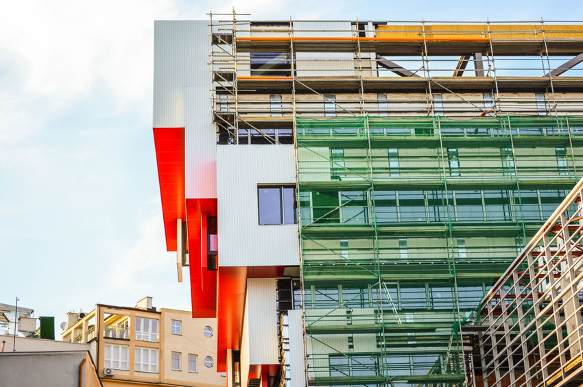 Under construction/Slovak National Gallery Building Exterior Building Story Built Structure Architectural Feature Under Reconstruction Reconstruction Urban Urban Perspectives Urbanphotography Urban Scene EyeEm Selects Multi Colored Architecture Sky Residential Structure Building Architectural Design Architectural Detail Tall - High High Rise The Photojournalist - 2018 EyeEm Awards The Street Photographer - 2018 EyeEm Awards #urbanana: The Urban Playground