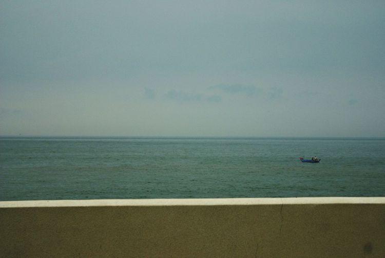 Bring Me The Horizon Horizon Ship Lonely Single Ocean View Beautiful Nature Ocean Waves Ocean Life Fishing Boat