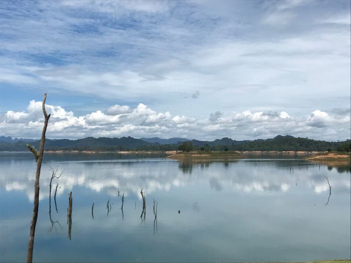 Sky Lake Nature Outdoors Thailand My Travel  Traveling Water Sunny