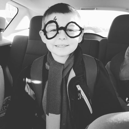 Harry Potter ⚡ Books Book Characters Read Boy Youth Looking At Camera Portrait Smiling Eyeglasses  One Person Toothy Smile Cheerful