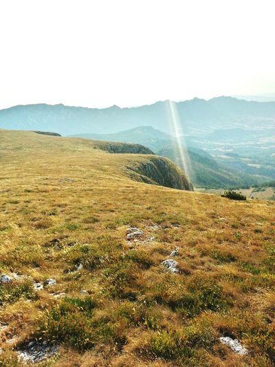 Borski Stol Hiking Mountain View Summertime Sunset Wild Nature