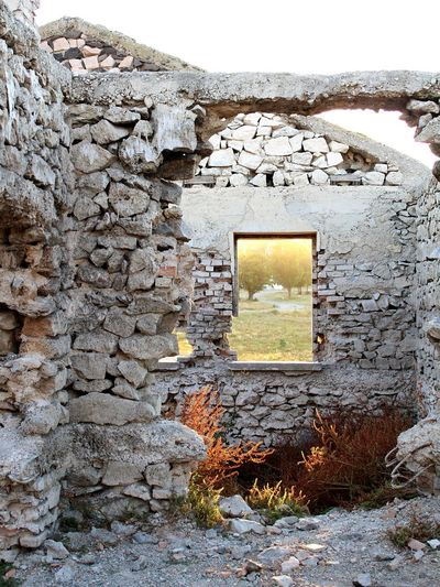 Window Nature Taking Over Stone Stone Wall EyeEmNewHere Close-up Sky Architecture Built Structure Wall Abandoned The Architect - 2018 EyeEm Awards 10