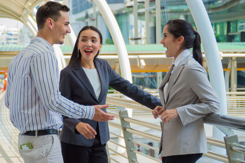 Adults American Asian  Associates Attractive Background Banner Briefing Business Businessman Caucasian Cheerful Collaborations Communication Confidence  Contact Cooperation Coworkers Discussing Discussion Elegant European  Experienced Female Formal Friends Group Image Joy Lady Lifestyle Male Man Meeting Operation Outdoors People Photo Planning Positive Pretty Professional Smiling Solutions Successful Team Urban Woman Work Young