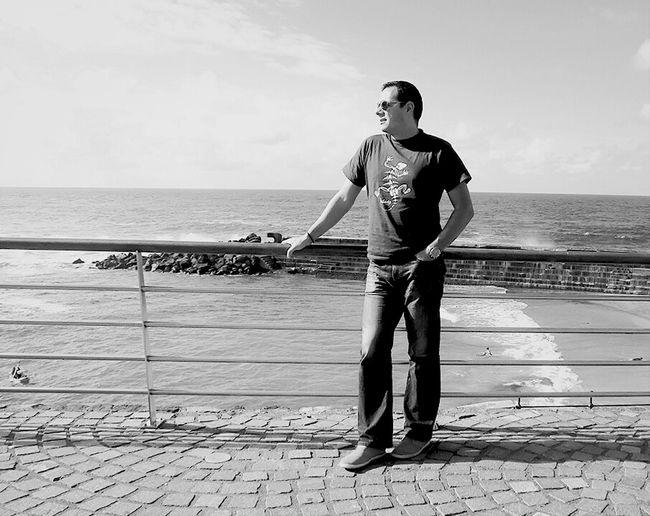 Blackandwhite Enjoying The Sun Selfportrait Tenerife Bajamar Eye4black&white