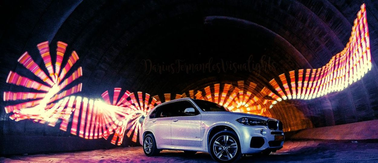 X5 Trails Car Night Illuminated Long Exposure BMW!!! X5 Hottness Canonphotography Ericpare TubePortraits