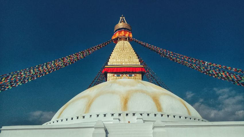 Boudhanath Stupa Architecture Built Structure Travel Destinations World Heritage Site By UNESCO PhonePhotography EyeEmNewHere EyeEm Selects