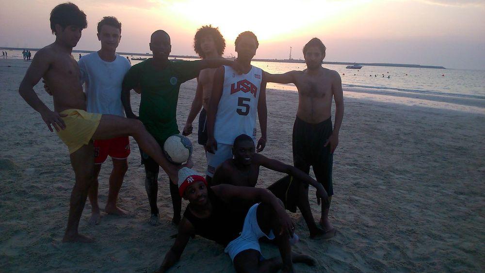 copa cabana style beach soccer damn boyz