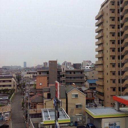 くもりスタート (´・Д・)」 Cloudy weather start Sky OSAKA Kansai ソラ 空雲cloud