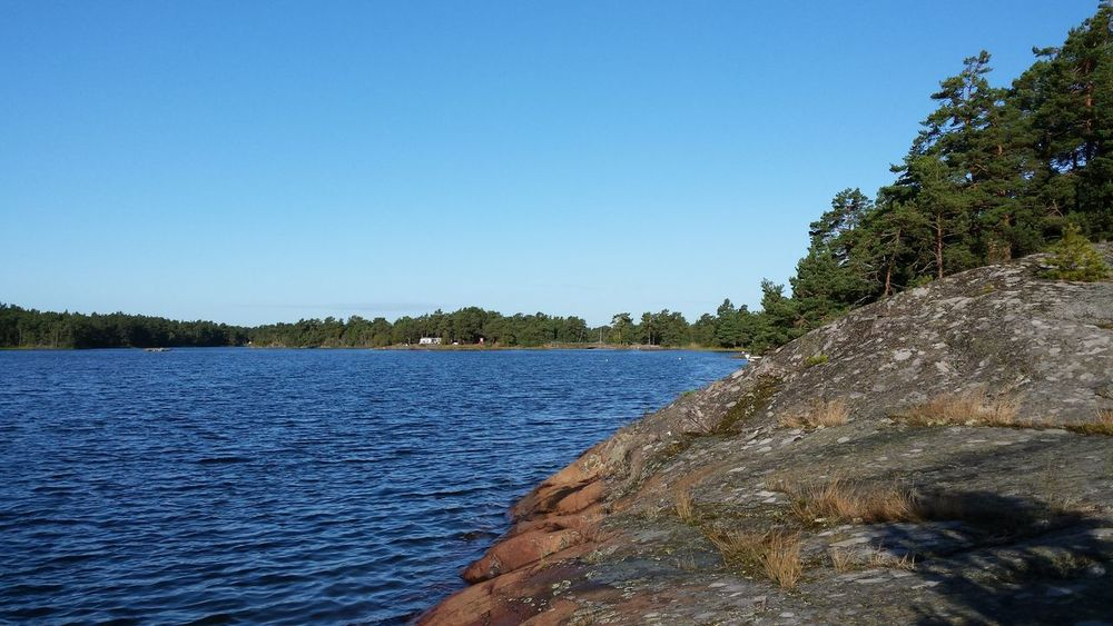 Sverige Småland Baltic Sea Enjoying The View Good morning to all! Enjoy the silence and the nature.