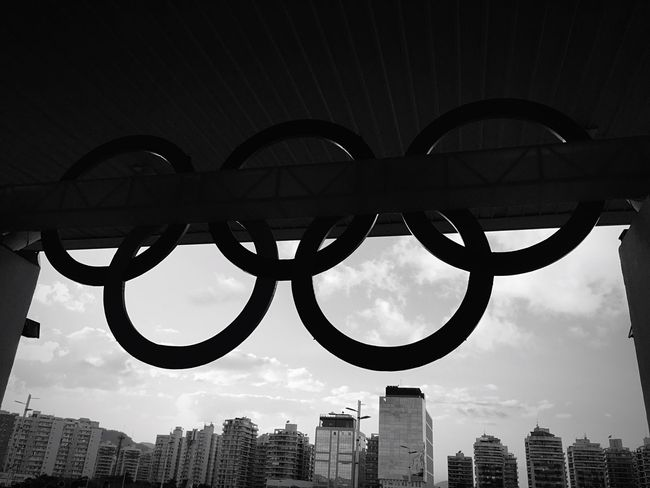 Olimpic Rings Built Structure Architecture Low Angle View No People Olimpic Games  Olimpíadas Olimpic Park Rio De Janeiro Rio2016