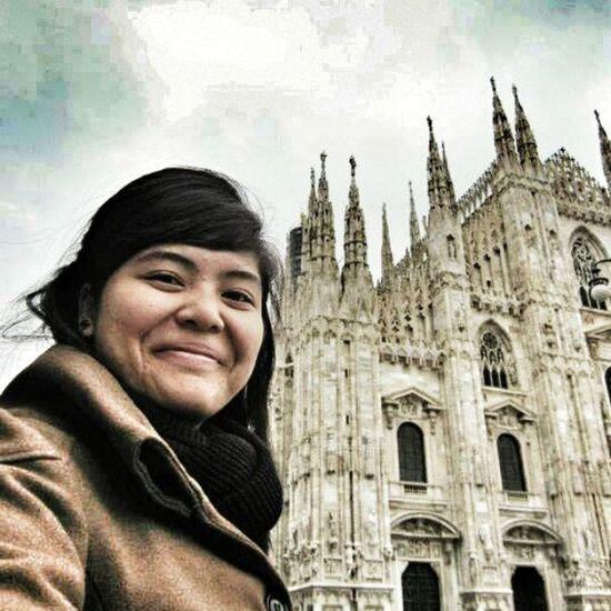 Piazza del Duomo, Milano Italia. Day10 Europetrip LastYear Backpacking Throwback