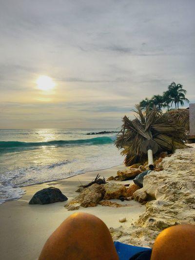 Water Sea Sunset Beach Beauty In Nature Vacations Nature Aruba Honeymoon