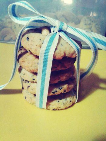Baanpanda sesame cookies