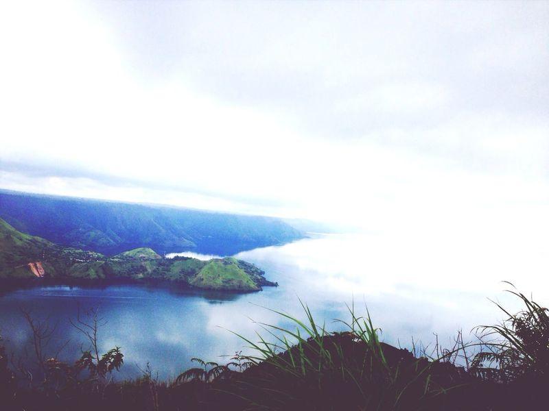 Toba Lake Foggy Morning Smoking Weed High