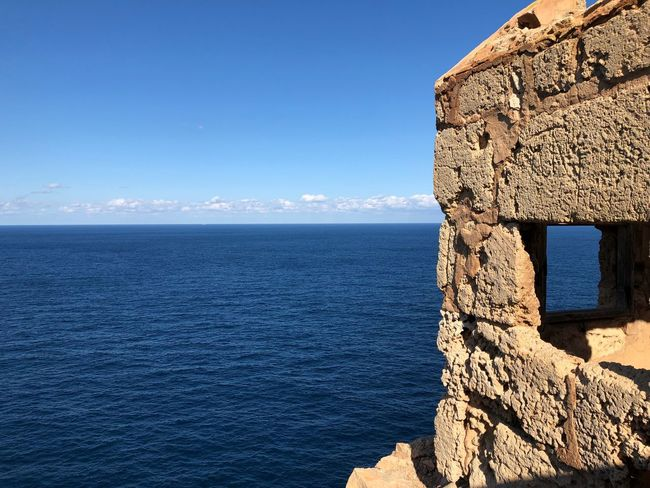 EyeEm Selects Water Sea Sky Blue Scenics - Nature Horizon Over Water