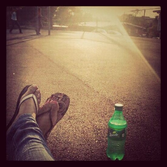 Having Fun With Kids Sunny Day Flipflops #Outsidee(; Sprite Mixmatch