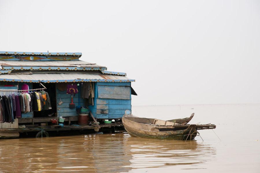 Floating House - Tonle Sap Lake - Cambodia Cambodia Tonle Sap Floating House House Lake Stilt Tonle Sap Lake