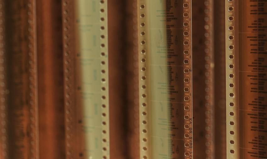 Full frame shot of camera film