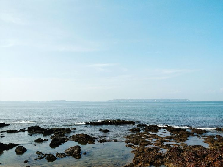 Sea Water Beach Horizon Over Water Tranquility Outdoors Nature No People Sky Beauty In Nature Scenics Landscape Day Low Tide Vacations Crop  Variation EyeEmNewHere Summer Light Freshness