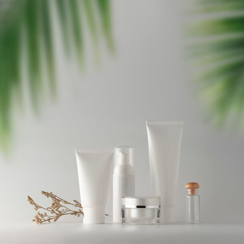 Refreshment No People Still Life Container Plant Indoors  Nature White Color Freshness Cosmetics Summer Summertime Sunblock Beauty In Nature Life Package Packaging Packaging Mockup Package Design