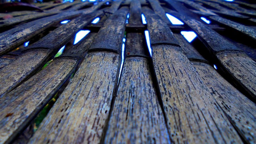 Wood - Material Pattern Full Frame Backgrounds Textured  Low Angle View Metal Outdoors Nature Wood Old Side By Side In A Row Weathered Selective Focus Close Up Art Abstract Object EyeEm Best Shots Lifestyles Wildlife & Nature Beauty In Nature Wall Art View