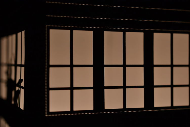 Illuminated Window Close-up Window Frame Metal Grate Window Sill Window Washer Office Building Architectural Detail Window Box Potted Plant Eaves Sewer Residential Structure Grate Tall Exterior Grid Skylight Building Gutter Security Bar Sewage