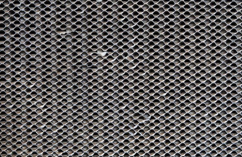 Full frame shot of metallic equipment