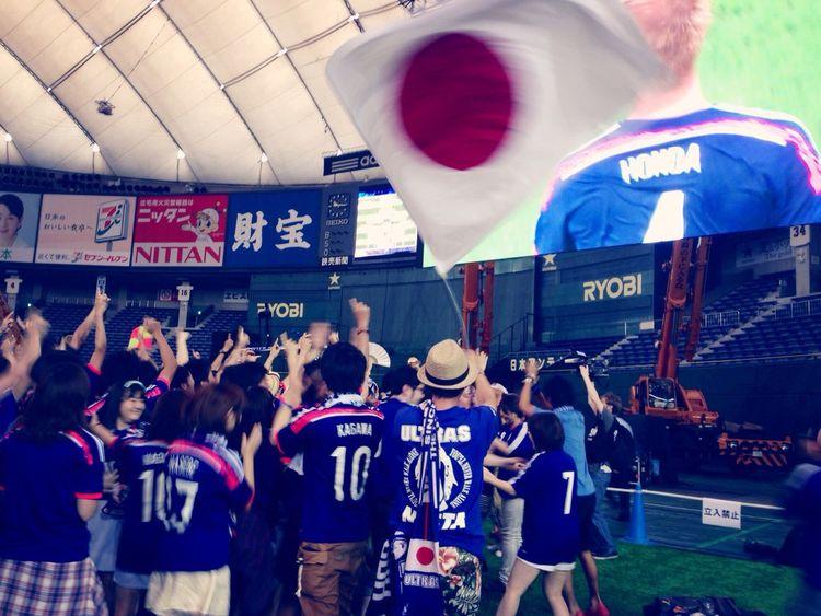 Worldcup2014 東京ドーム