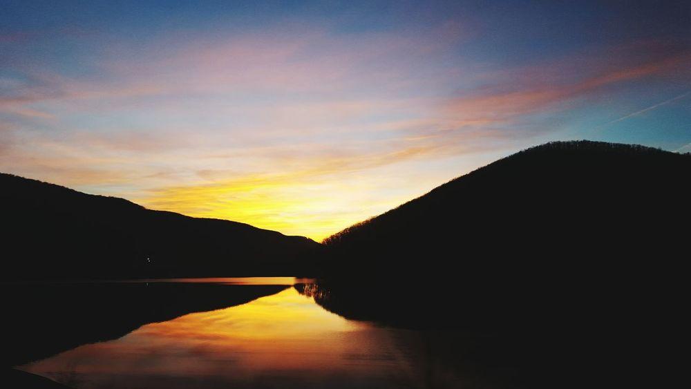 Pennsylvania Beauty Kinzua Allegheny River Pennsylvania Sunset Route59 Samsung Galaxy S6 Samsungphotography Nature Photography Mountains And Sky
