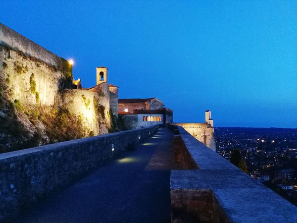 Castello Malaspina Castle View  Architecture Built Structure Building Exterior Night Blue Sky Clear Sky Summernight