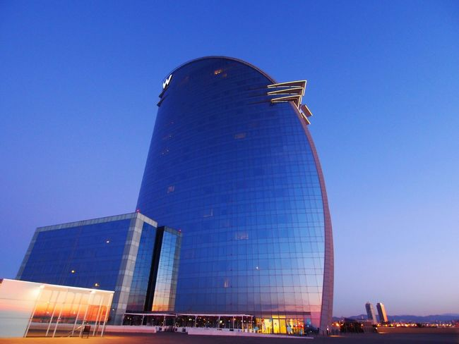 Architecture Built Structure Building Exterior Modern Travel Destinations Skyscraper Low Angle View Clear Sky Outdoors No People City Illuminated Blue Day Sky