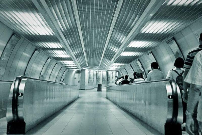 Underground Passage People PhonePhotography Traveler